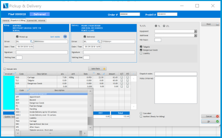 NEO6 :: Logistics Software